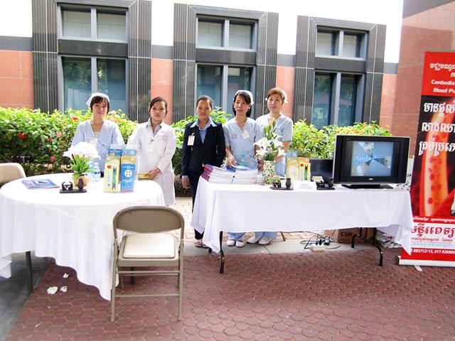 Health Fair US Embassy in Cambodia